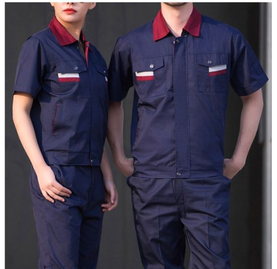 really cheap fine quality arrives Hot Sale Cotton Automobile Repair Industries Workwear Food Factory Work  Clothes with Customized Logo