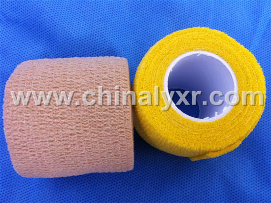 Non Woven Self Adhesive Bandage/Triangular Bandage/Elastic Bandage Tape pictures & photos