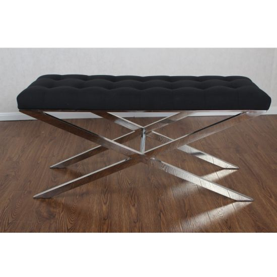 Fine China Black Tufted Bedroom Furniture Bed End Bench China Uwap Interior Chair Design Uwaporg