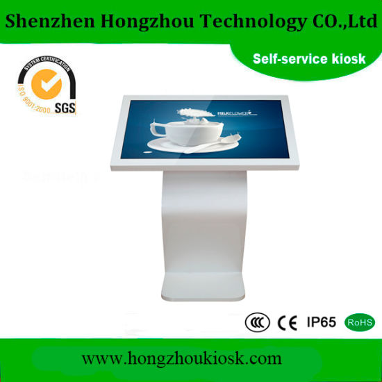 Touch Screen Barcode Scanner Self Service Kiosk pictures & photos