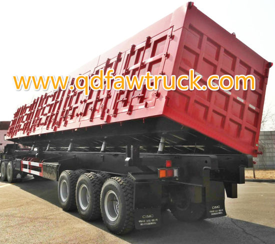 60-80 Tons Side Tipper Trailer pictures & photos