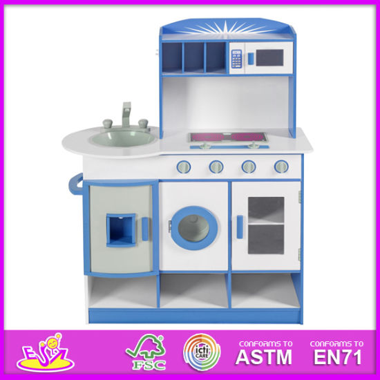 2014 Big Kids Kitchen Toys Wooden Toy Kitchen, Children Play House Toy  Kitchen, Wholesale Wooden Toy Kitchen For Baby W10c075A