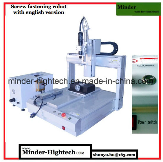 Full English Version CNC Screw Fastening Robot MD-Dl-T3311 pictures & photos