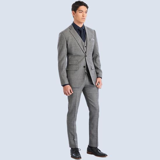 Slim Fit Tuxedo Brand Fashion Bridegroon Business Men Casual Suits
