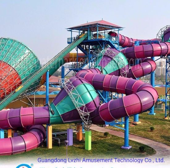 Storm Valley Large Water Slide for Amusement Park (WS-011)