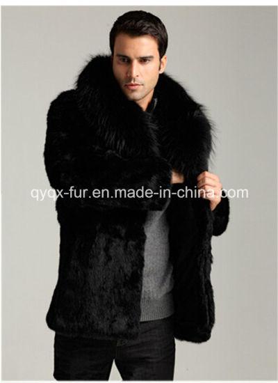 2014 Hot Sale Men's Faux Mink Fur Coat Qy-Cm01