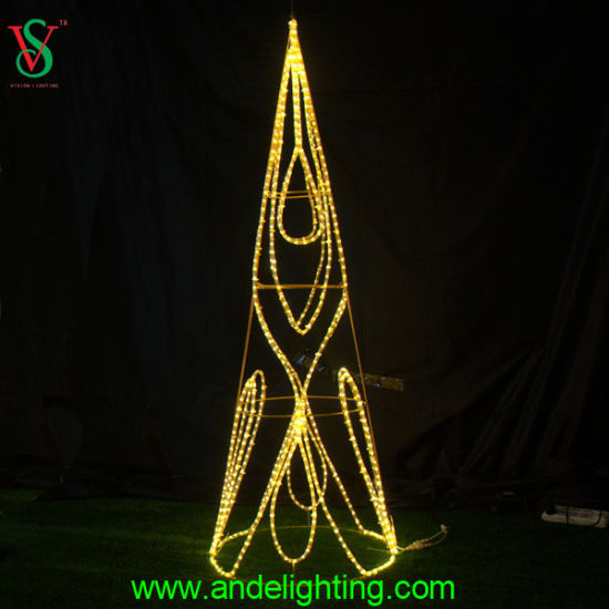 Golden Ball Light Outdoor Christmas Decoration pictures & photos
