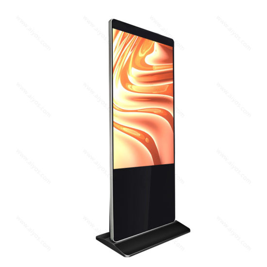 Free Stand Automatic Shopping Mall Photo Booth Display Touch Screen