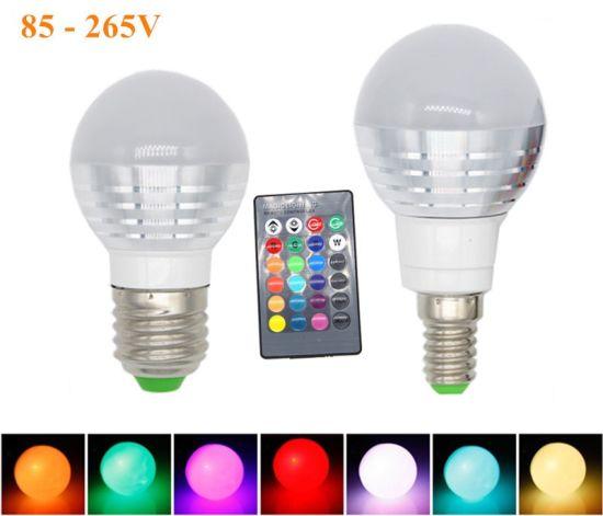 3W RGB Lampada LED Bulb