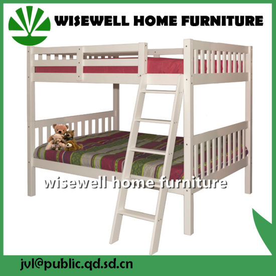 Pine Wood Detachable Bunk Bed for Kids (WJZ-B708) pictures & photos