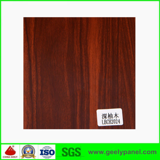 Best Wood Texture Aluminum Composite Panel Supplier ACP pictures & photos