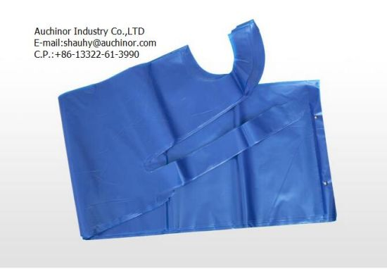 Customized Printed Disposable Plastic Apron for Food Industry pictures & photos