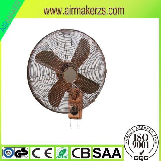 16 Inch Classic Antique Retro Design Electric Mounted Wall Fan pictures & photos