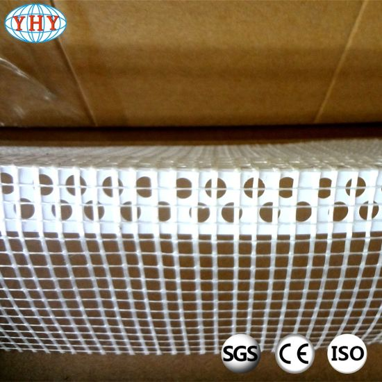Plastic Profile with The Tissue for Buiding