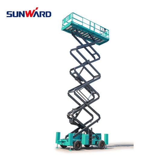 Sunward Swsl1212HD Self-Propelled Battery Powered Scissor Lifts with Platform