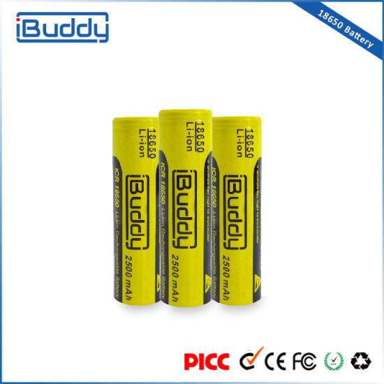 Buddy Group 18650 Lithium Battery for Box Mod Vape Battery pictures & photos