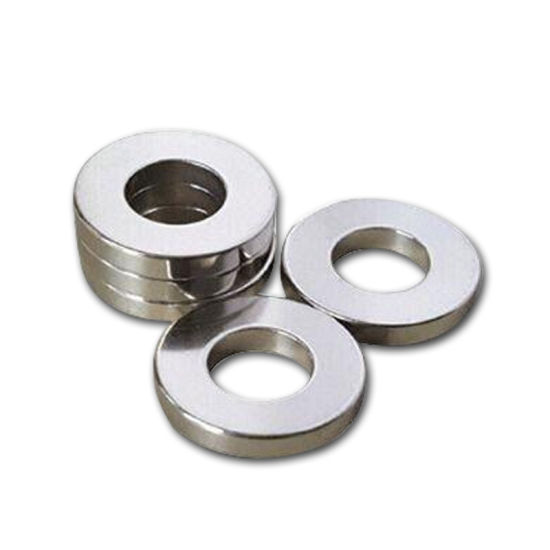 Zinc Plated Strong Permanent NdFeB Ring Magnet pictures & photos