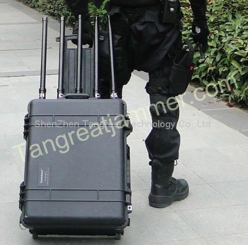 Portable Military Jammer (TG-VIP JAMM)