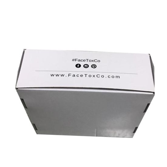 Custom Square Corrugated Packaging Paper Gift Box with Logo Printing pictures & photos