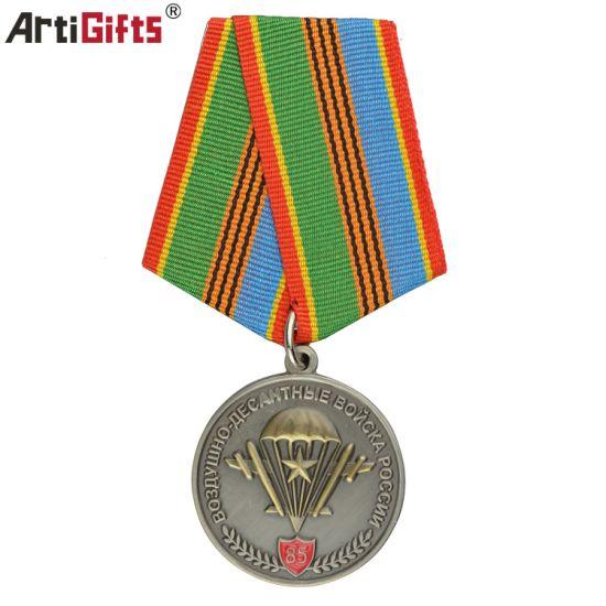 Custom OEM Wholesale Military Air Force Metal Medal
