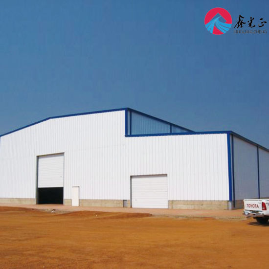 Factory Buildings for Sale/Steel Structure Prefabricated Warehouse, Workshop Q345b/Q235B