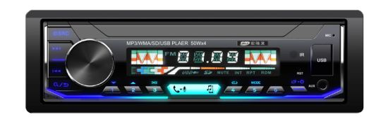 High Quality Removable Panel Car Radio Player with Bluetooth Multi Color LED pictures & photos
