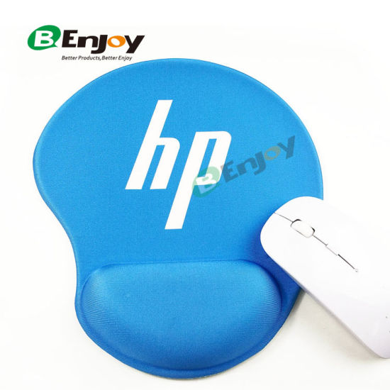 Custom Mouse Pad With Gel Wrist Support