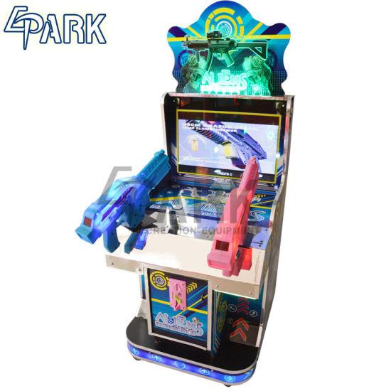 Kids Aliens Factory Price Epark Light Gun Shooting Game Machine