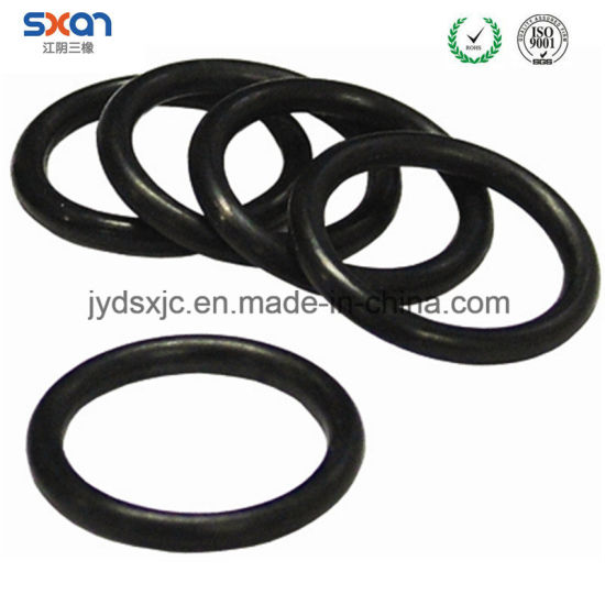 China Oil Resistant Black NBR Rubber O-Rings for Machine Tool ...