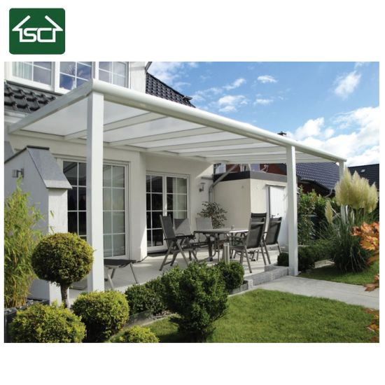 China European Style Terrace Patio Roofing With Double Glass Sliding Doors China Terrace Roof Terrace Cover