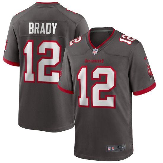 Buccaneers Jerseys 12 Tom Brady Football Jerseys