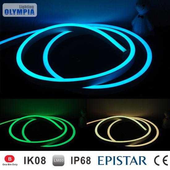 China flexible led light rgb 24v 5050 led neon rope light china flexible led light rgb 24v 5050 led neon rope light aloadofball Images