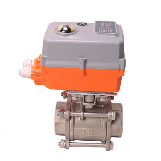 Normal Temperature Electric Control Valve Withe Electric Actuator