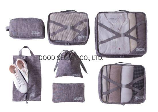 7 PCS Set Portable Travel Bag for Business Trip, Home Storage, Outdoor