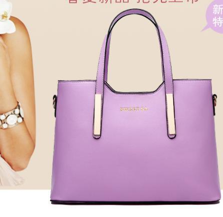 Three-Piece Lash Package/ Lady Woman PU Leather Handbag pictures & photos