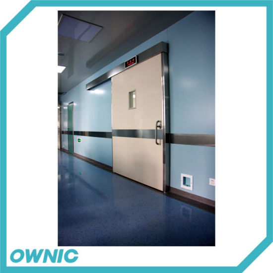 Stainless Steel Frame Hospital Hermetic Sliding Door
