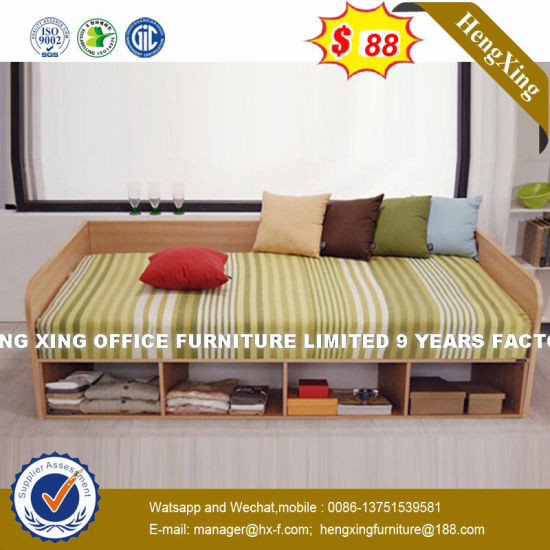 Country Guestroom Headboard Interior Design Side Rail Bed (HX-8NR1134) pictures & photos