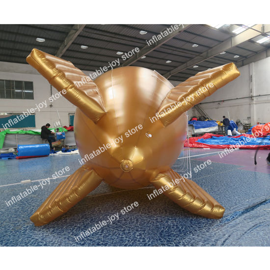 5m/6m or 8m Long Inflatable Balloon, Helium Plane, Air Blimp Balloon for Advertising pictures & photos