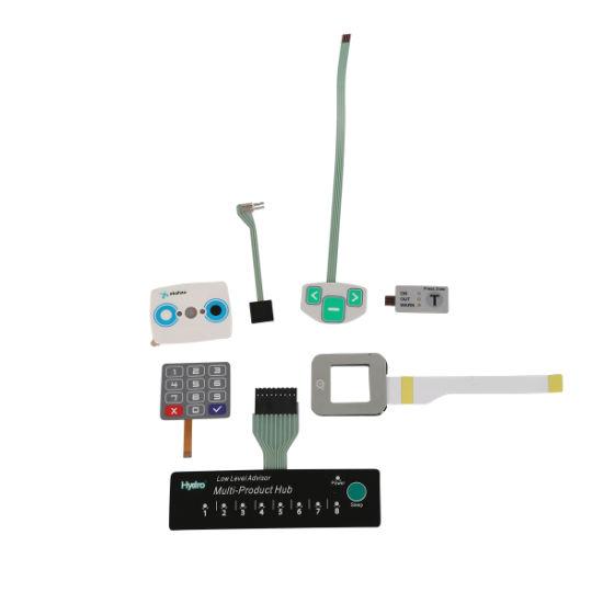 Overlay Print Flexible Circuit Keypads Membrane Control Switch