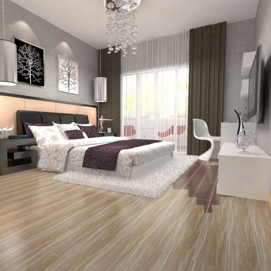 Modern Design Like Wood Kajaria Floor Tiles