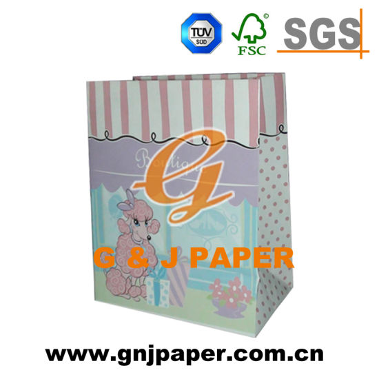 Various Size Paper Bag Used on Wrapping with Different Logos pictures & photos