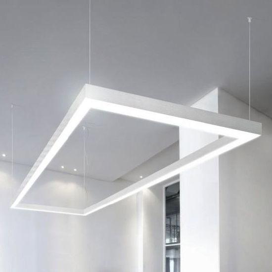 office pendant light. Connectable LED Linear Light Pendant For Modern Office Lighting