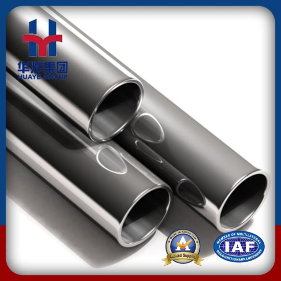 Huaye Prime Grade 201 304 Stainless Steel Tubes for Decoration pictures & photos