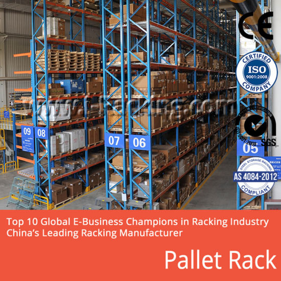 Wholesale Pallet Storage Rack for Industrial Warehouse