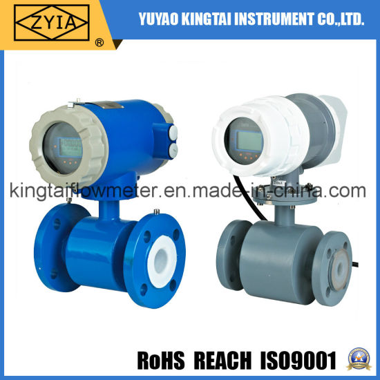 Ld Series Digital Water Electromagnetic Flow Meter Sewage Magnetic Flowmeter