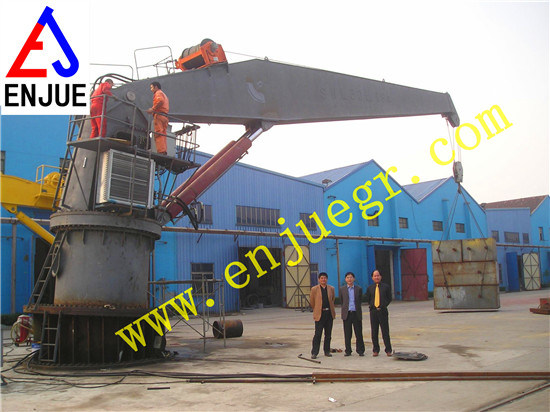 Marine Stick Fixed Boom Floating Deck Crane Marine Offshore Crane pictures & photos