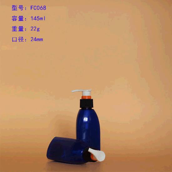 Shampoo and Bodywash Plastic Pet Bottles