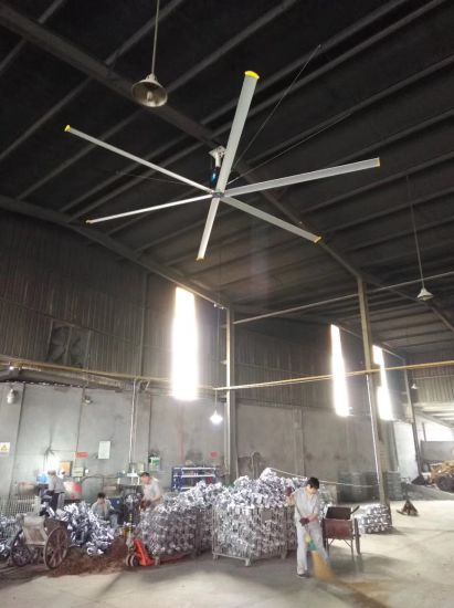 China 16182022ft ac 220v low watt dc motor industrial giant hvls 16182022ft ac 220v low watt dc motor industrial giant hvls ceiling fan for warehouse aloadofball Image collections