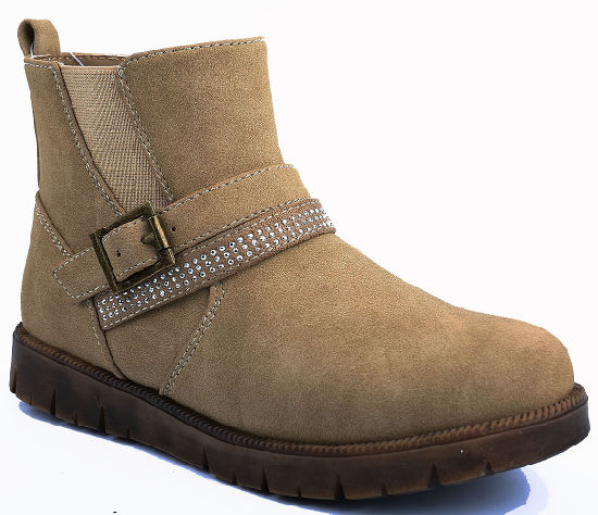 separation shoes b4ba0 47808 [Hot Item] Kids PU Ankle Boots Camel Girls School Shoes Boots for Winter