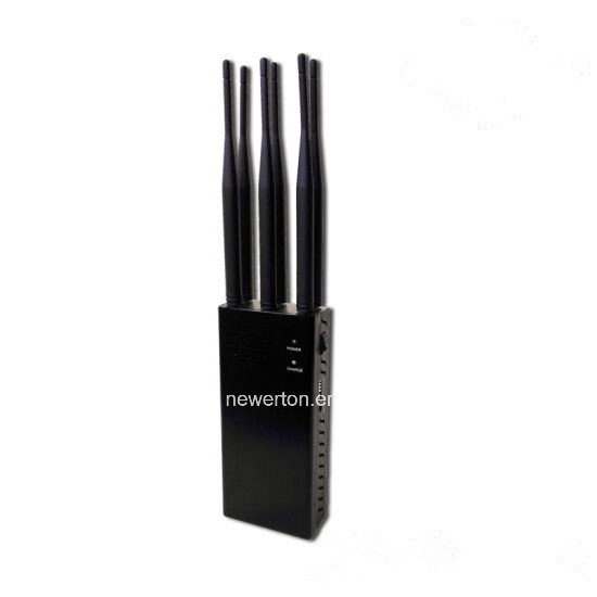 Powerful 6 Antennas 2/3/4G Cellphone Signal Jammer GPS Lojack WiFi Jammer pictures & photos